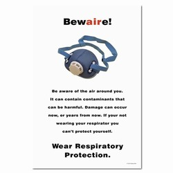 sp113 - Safety Awareness Poster, Safety Notice Poster, Safety Reminder Poster, Safety Placard, Safety Help Poster, Safety Notification Poster