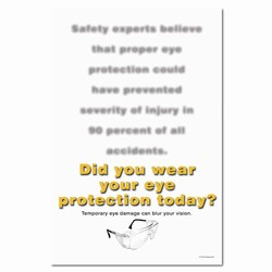 sp115 - Safety Awareness Poster, Safety Notice Poster, Safety Reminder Poster, Safety Placard, Safety Help Poster, Safety Notification Poster