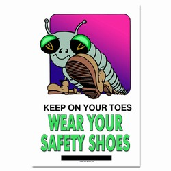 sp124 - Safety Awareness Poster, Safety Notice Poster, Safety Reminder Poster, Safety Placard, Safety Help Poster, Safety Notification Poster