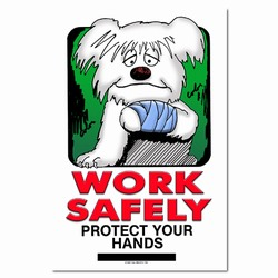 sp125 - Safety Awareness Poster, Safety Notice Poster, Safety Reminder Poster, Safety Placard, Safety Help Poster, Safety Notification Poster