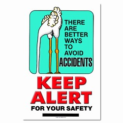 sp131 - Safety Awareness Poster, Safety Notice Poster, Safety Reminder Poster, Safety Placard, Safety Help Poster, Safety Notification Poster