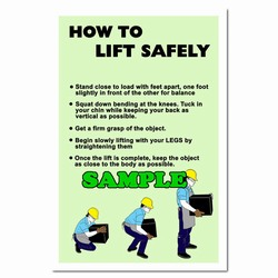 sp238 - Safety Awareness Poster, Safety Notice Poster, Safety Reminder Poster, Safety Placard, Safety Help Poster, Safety Notification Poster