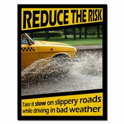 sp340 - Safety Awareness Poster, Safety Notice Poster, Safety Reminder Poster, Safety Placard, Safety Help Poster, Safety Notification Poster