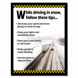 sp341 - Safety Awareness Poster, Safety Notice Poster, Safety Reminder Poster, Safety Placard, Safety Help Poster, Safety Notification Poster