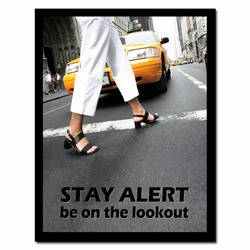 sp343 - Safety Awareness Poster, Safety Notice Poster, Safety Reminder Poster, Safety Placard, Safety Help Poster, Safety Notification Poster