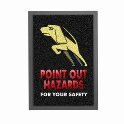 srug2 - Safety Mat, Safety Rug, Non-slip rug, safety themed rug, safety message rug