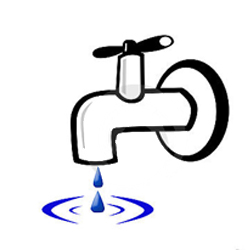 AI-w-10- Water Conservation Logo Design