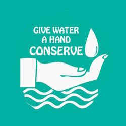 AI-w-12- Water Conservation Logo Design