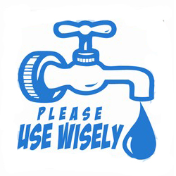 AI-w-13- Water Conservation Logo Design