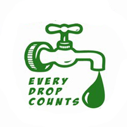 AI-w-14- Water Conservation Logo Design