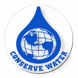 wd001 - Water Conservation Decal, Water Conservation Handouts, Energy Conservation Gift, Energy Conservation Incentive