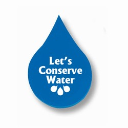 wh010 - Water Conservation Droplet Eraser, Water Conservation Handouts, Energy Conservation Gift, Energy Conservation Incentive