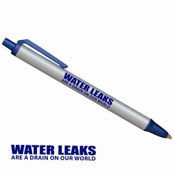 AI-whpen015 - Water Conservation Click Pen, Energy Conservation Handouts, Energy Conservation Gift, Energy Conservation Incentive