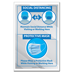VPPoster-725 Virus Protection Safety Poster