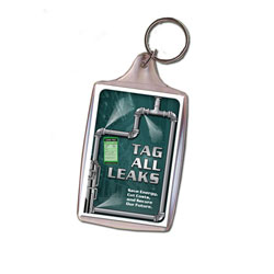 AI-ltkey100 Leak Tag Program Key Chain