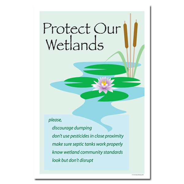 Ai Wp219 Protect Our Wetlands Water Conservation Poster